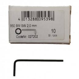 Klucz imbusowy 2 mm